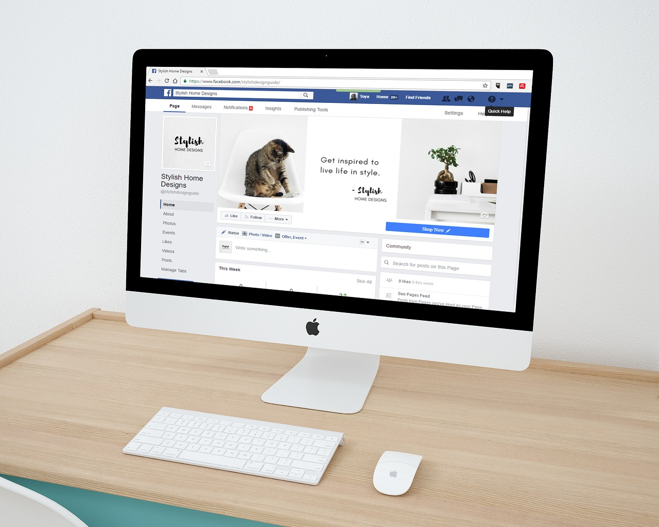 creating a Facebook page to help you sell on social media